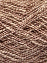 Fiber Content 62% Cotton, 23% Viscose, 15% Polyamide, Rose Brown, Brand Ice Yarns, Cream, Yarn Thickness 2 Fine  Sport, Baby, fnt2-56159
