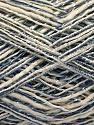 Fiber Content 62% Cotton, 23% Viscose, 15% Polyamide, Light Blue, Brand Ice Yarns, Cream, fnt2-56161