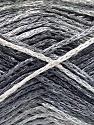 Fiber Content 60% Viscose, 40% Cotton, Brand Ice Yarns, Grey Shades, fnt2-56163