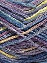 Fiber Content 60% Viscose, 40% Cotton, Yellow, Lilac, Light Green, Brand Ice Yarns, Blue, fnt2-56166
