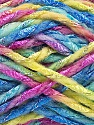 Fiber Content 6% Metallic Lurex, 50% Wool, 44% Polyamide, Yellow, Turquoise, Pink, Brand Ice Yarns, Green, Yarn Thickness 5 Bulky  Chunky, Craft, Rug, fnt2-56177