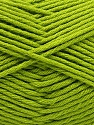Fiber Content 50% SuperFine Acrylic, 50% SuperFine Nylon, Brand Ice Yarns, Green, Yarn Thickness 4 Medium  Worsted, Afghan, Aran, fnt2-56286