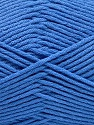 Fiber Content 50% SuperFine Nylon, 50% SuperFine Acrylic, Brand ICE, Blue, Yarn Thickness 4 Medium  Worsted, Afghan, Aran, fnt2-56287