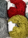 Fiber Content 100% Polyester, Mixed Lot, Brand Ice Yarns, Yarn Thickness 1 SuperFine  Sock, Fingering, Baby, fnt2-56301