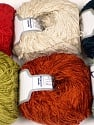 Fiber Content 100% Polyester, Mixed Lot, Brand Ice Yarns, Yarn Thickness 1 SuperFine  Sock, Fingering, Baby, fnt2-56302