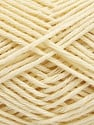 Fiber Content 50% OrganicWool, 50% Cotton, Brand Ice Yarns, Cream, fnt2-56308