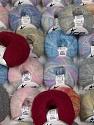 Kid Mohair Comfort  Fasergehalt 6% Elastan, 33% Polyamid, 28% Kid Mohair, 18% Wolle, 15% Viskose, Brand Ice Yarns, fnt2-56368
