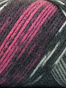 Fasergehalt 50% Acryl, 50% Wolle, Pink, Brand Ice Yarns, Grey Shades, fnt2-56445