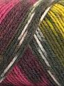 Fiber Content 50% Wool, 50% Acrylic, Yellow, Pink, Orange, Maroon, Brand ICE, Grey, Yarn Thickness 3 Light  DK, Light, Worsted, fnt2-56452