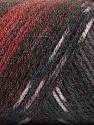 Fiber Content 50% Acrylic, 50% Wool, Maroon, Brand ICE, Grey Shades, Burgundy, Yarn Thickness 3 Light  DK, Light, Worsted, fnt2-56454