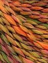 Fasergehalt 45% Wolle, 45% Acryl, 10% Polyamid, Pink, Orange, Brand Ice Yarns, Green, fnt2-56465