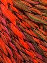 Fasergehalt 45% Wolle, 45% Acryl, 10% Polyamid, Pink, Neon Orange, Brand Ice Yarns, Green Shades, fnt2-56466