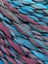 Fasergehalt 45% Wolle, 45% Acryl, 10% Polyamid, Turquoise, Orchid, Brand Ice Yarns, fnt2-56467