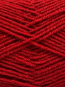 Fiber Content 70% Acrylic, 30% Wool, Brand ICE, Dark Red, Yarn Thickness 4 Medium  Worsted, Afghan, Aran, fnt2-56483