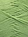 Fiber Content 50% Bamboo, 50% Acrylic, Mint Green, Brand ICE, Yarn Thickness 2 Fine  Sport, Baby, fnt2-56575