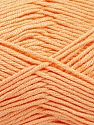 Fiber Content 50% Bamboo, 50% Acrylic, Light Salmon, Brand ICE, Yarn Thickness 2 Fine  Sport, Baby, fnt2-56579