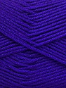 Fiber Content 50% Bamboo, 50% Acrylic, Purple, Brand ICE, Yarn Thickness 2 Fine  Sport, Baby, fnt2-56581