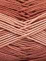 Fiber Content 100% Mercerised Cotton, Brand ICE, Copper, Yarn Thickness 2 Fine  Sport, Baby, fnt2-56594