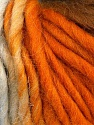Fiber Content 100% Wool, Orange, Brand ICE, Brown, Baby Blue, Yarn Thickness 5 Bulky  Chunky, Craft, Rug, fnt2-56675