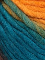 Fiber Content 100% Wool, Turquoise, Brand ICE, Gold, Brown, Yarn Thickness 5 Bulky  Chunky, Craft, Rug, fnt2-56677