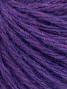 Fiber Content 50% Wool, 50% Acrylic, Lavender, Brand ICE, Yarn Thickness 4 Medium  Worsted, Afghan, Aran, fnt2-56748