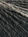 Fiber Content 50% Merino Wool, 25% Alpaca, 25% Acrylic, Brand ICE, Grey Shades, Yarn Thickness 3 Light  DK, Light, Worsted, fnt2-56764