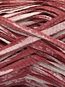 Fiber Content 100% Cotton, White, Light Burgundy, Brand ICE, Yarn Thickness 5 Bulky  Chunky, Craft, Rug, fnt2-56792