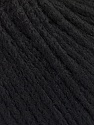 Fiber Content 50% Extrafine Merino Wool, 50% Polyamide, Brand ICE, Black, fnt2-56818