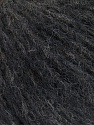 Fiber Content 44% Polyamide, 38% Merino Wool, 18% Alpaca, Brand ICE, Anthracite Black, Yarn Thickness 2 Fine  Sport, Baby, fnt2-56889
