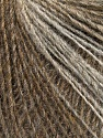 Fiber Content 50% Merino Wool, 25% Alpaca, 25% Acrylic, Brand ICE, Brown Shades, Yarn Thickness 2 Fine  Sport, Baby, fnt2-56944