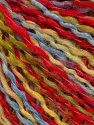 Fiber Content 50% Wool, 50% Acrylic, Yellow, Red, Brand ICE, Green, Blue, fnt2-56972