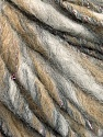 Fiber Content 45% Wool, 25% Acrylic, 20% Alpaca, 10% Metallic Lurex, White, Brand ICE, Grey, Gold, Camel, Yarn Thickness 5 Bulky  Chunky, Craft, Rug, fnt2-56978