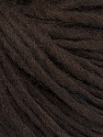 Fiber Content 50% Acrylic, 50% Wool, Brand ICE, Dark Brown, fnt2-57002