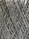 Conţinut de fibre 75% Viscoză, 25% Metalic lurex, Silver, Brand ICE, fnt2-57022