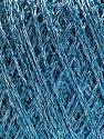 Conţinut de fibre 75% Viscoză, 25% Metalic lurex, Brand ICE, Blue, fnt2-57025