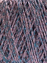 Fiber Content 85% Viscose, 25% Metallic Lurex, Lilac, Brand ICE, Blue, Yarn Thickness 3 Light  DK, Light, Worsted, fnt2-57026