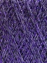 Conţinut de fibre 75% Viscoză, 25% Metalic lurex, Lavender, Brand ICE, fnt2-57027