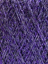 Contenido de fibra 75% Viscosa, 25% Metálicos Lurex, Lavender, Brand ICE, fnt2-57027