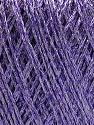 Conţinut de fibre 75% Viscoză, 25% Metalic lurex, Lilac, Brand ICE, fnt2-57028
