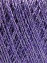 Contenido de fibra 75% Viscosa, 25% Metálicos Lurex, Lilac, Brand ICE, fnt2-57028