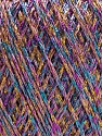 Contenido de fibra 75% Viscosa, 25% Metálicos Lurex, Pink, Lilac, Brand ICE, Gold, Blue, fnt2-57029