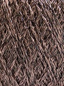 Fiber Content 85% Viscose, 25% Metallic Lurex, Brand ICE, Camel, Brown, fnt2-57033