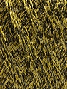 Fiber Content 85% Viscose, 25% Metallic Lurex, Olive Green, Brand ICE, Black, fnt2-57038
