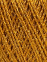 Fiber Content 85% Viscose, 25% Metallic Lurex, Brand ICE, Gold, fnt2-57039