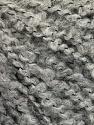 Fiber Content 9% Viscose, 43% Acrylic, 24% Alpaca, 14% Virgin Wool, 10% Polyamide, Brand ICE, Grey, fnt2-57142