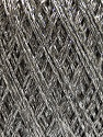Fiber Content 85% Viscose, 25% Metallic Lurex, Silver, Brand ICE, Grey, Yarn Thickness 3 Light  DK, Light, Worsted, fnt2-57171
