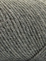 Fiber Content 50% Wool, 50% Acrylic, Brand ICE, Grey, Yarn Thickness 3 Light  DK, Light, Worsted, fnt2-57172