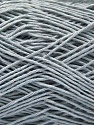 Fiber Content 100% Cotton, Light Grey, Brand ICE, Yarn Thickness 1 SuperFine  Sock, Fingering, Baby, fnt2-57182