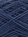 Fiber Content 100% Cotton, Navy, Brand ICE, Yarn Thickness 1 SuperFine  Sock, Fingering, Baby, fnt2-57184