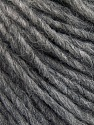 Fiber Content 50% Merino Wool, 25% Alpaca, 25% Acrylic, Brand ICE, Grey Melange, Yarn Thickness 4 Medium  Worsted, Afghan, Aran, fnt2-57208
